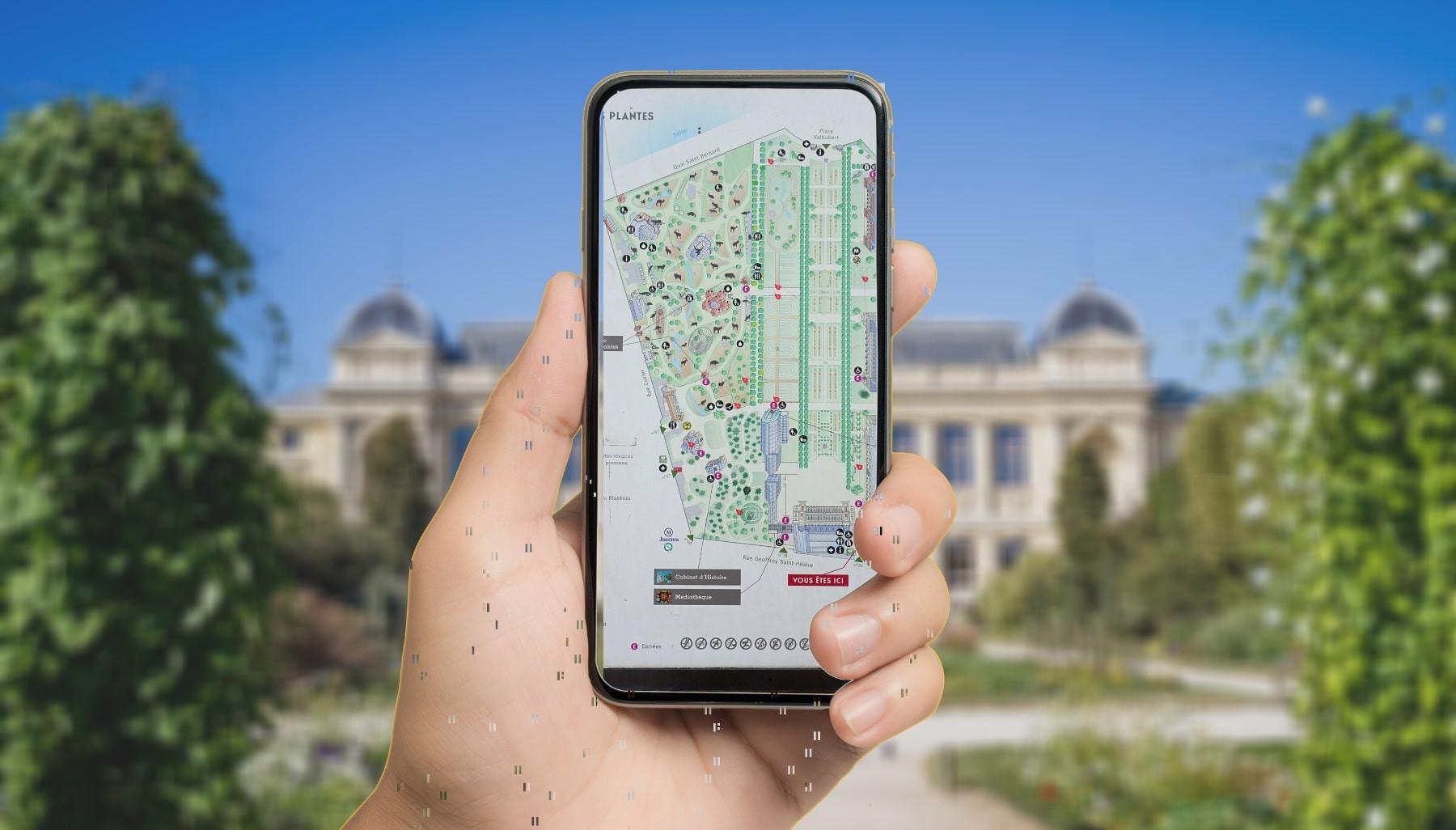 Jeu de piste sur téléphone à Paris