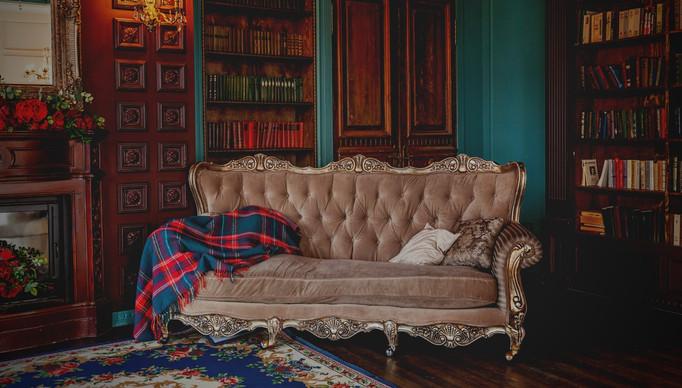 Salon de Sherlock Holmes pour une enquête à la maison