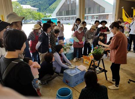 花の寄せ植え教室