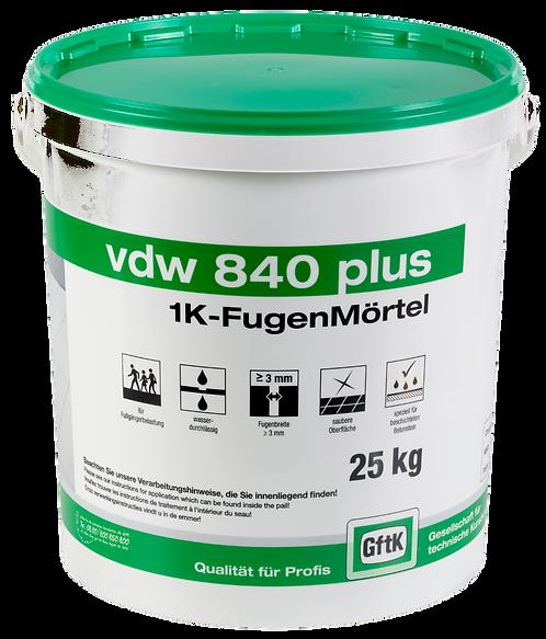VDW 840 plus - för smala fogar med liten belastning