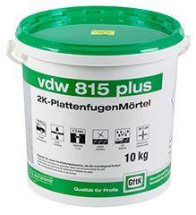 VDW 815 plus - för smala fogar och medelhög belstning