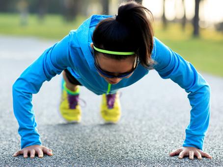 10 minutos de fortalecimento em qualquer lugar para triatletas.