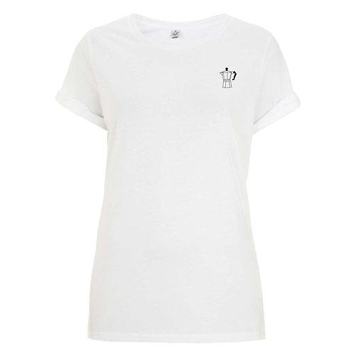 "Organic Damen-Shirt ""Mokka"""