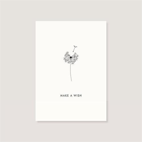 """Karte - """"Pusteblume"""""""
