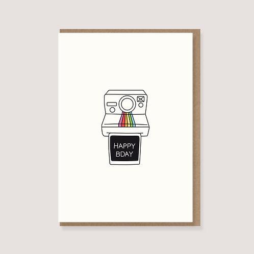 """Klappkarte - """"Polaroid"""""""