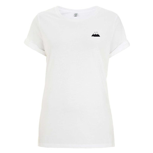 "Organic Damen-Shirt ""Berge"""