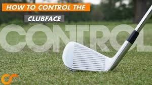 Clubface control - a top priority