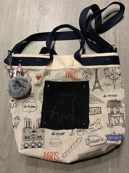 Sac Fashion Bulldog - Lovely Paris - Bouledogue Français