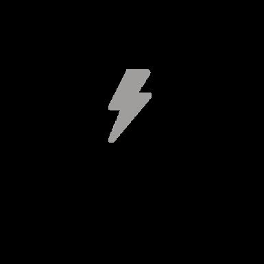 Baby Lightning Bolt Gray