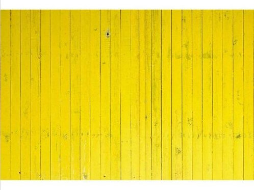 7x5FT Super Yellow Wooden Planks  Backdrop Vinyl