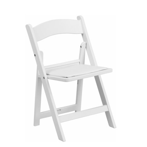 The White Folding chair