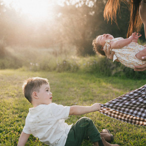 Worried your child won't smile for family photos?