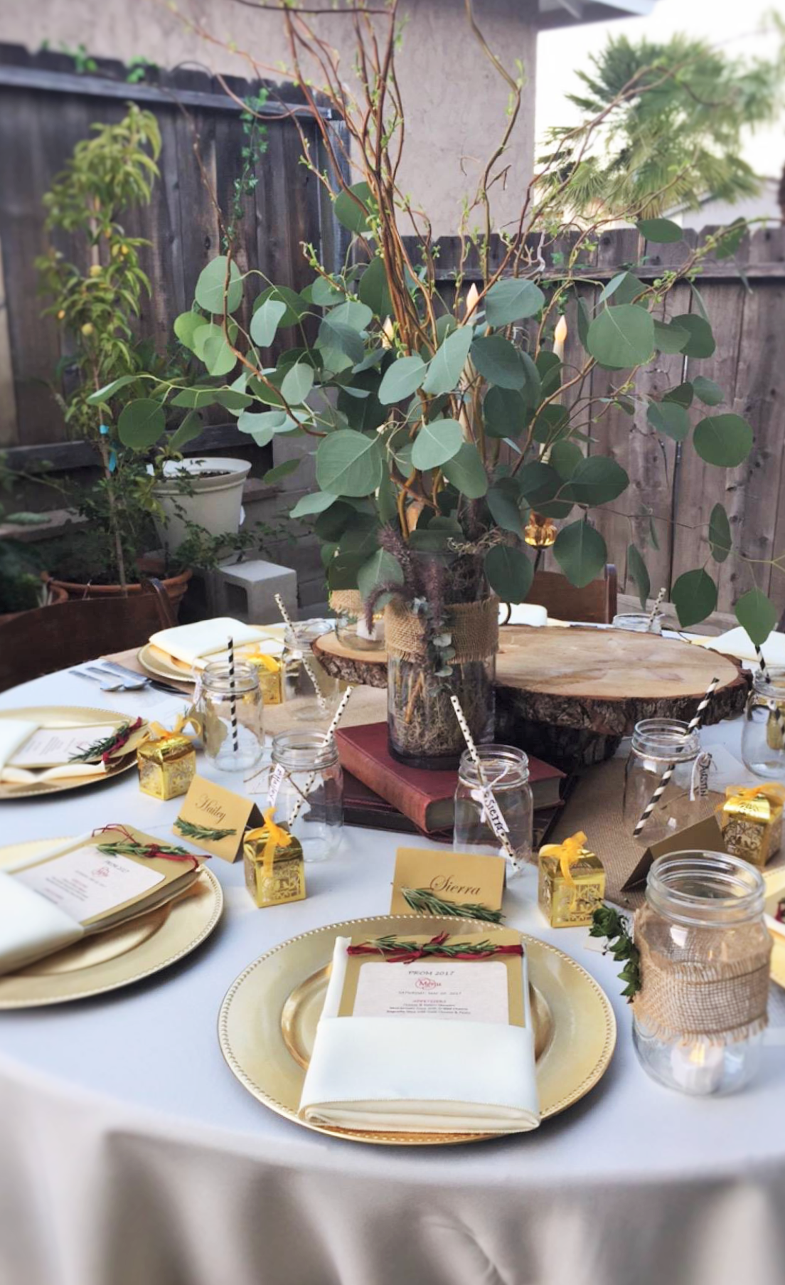 Dinner Party Tablescape