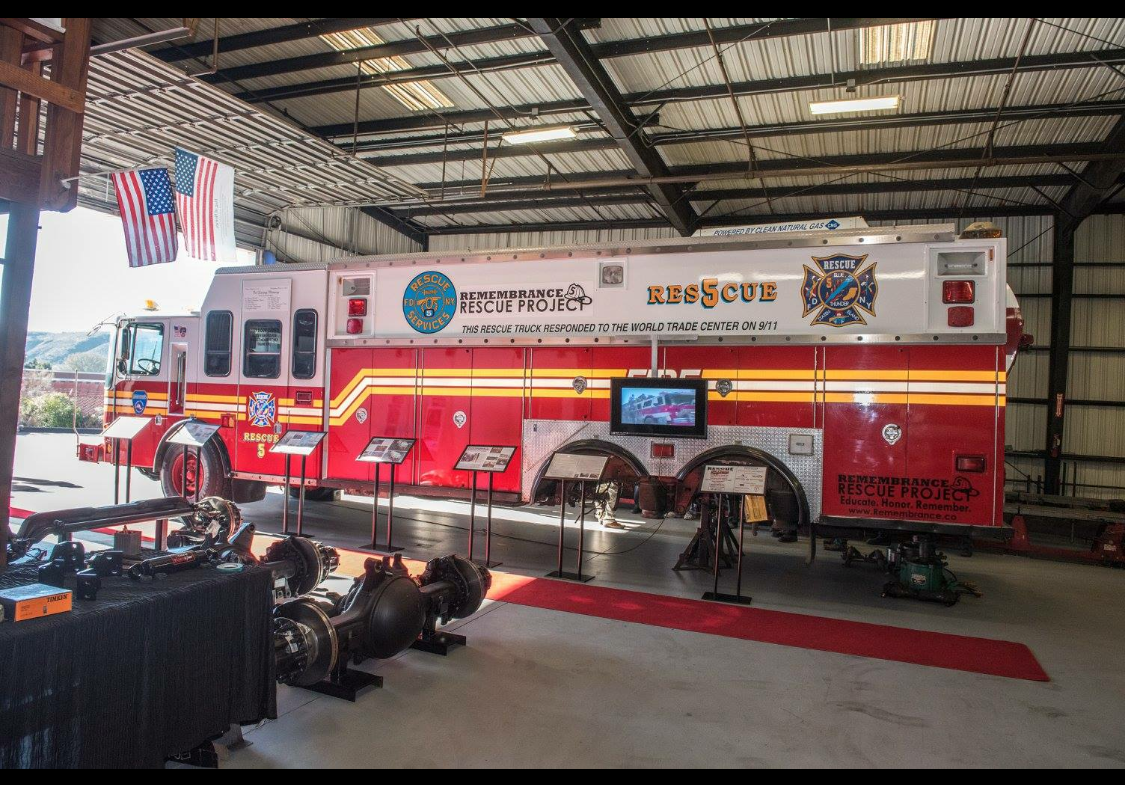 Rescue 5 at Open House
