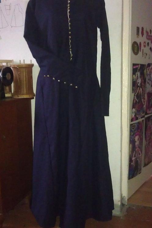 Damenkleid aus Leinen 14. Jahrhundert