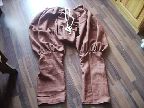 Rus-Hose aus Leinen