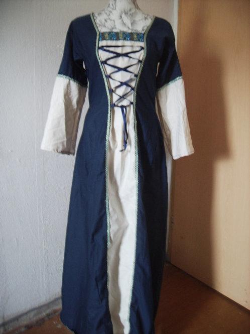 Kleid aus Baumwolle mit Schnürung