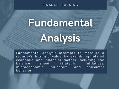 TERM OF THE DAY: What is Fundamental Analysis?