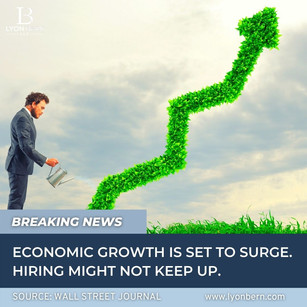 While the economy grows in 2021, hiring may not keep up.