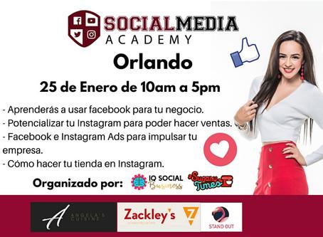 Vuelve el Social Media Academy a Orlando con Yazz Contla