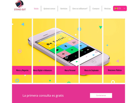 Stand Out Consulting lanza su página web en español