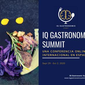 Nace la 1a Cumbre Gastronómica global online en español debido a COVID-19