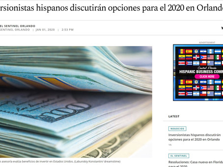INVERSIONISTAS HISPANOS 2020 on the news