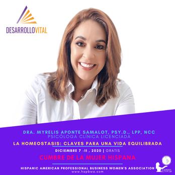 Dra Myrelis Aponte - Cumbre de la Mujer