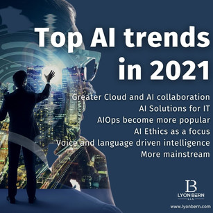 Top AI trends in 2021: What will happen with artificial intelligence