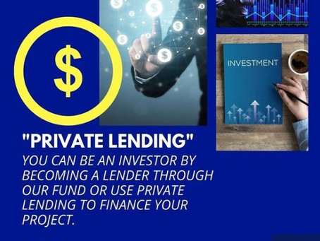 DO YOU KNOW WHAT PRIVATE LENDING IS?DO YOU KNOW YOU CAN BE A LENDER TOO?