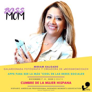 Miriam Salgado - Cumbre de la Mujer Hisp