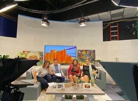 Juliana No and Ivaneska Calixto talk about the IQ Gastronomic Festival on Despierta Orlando