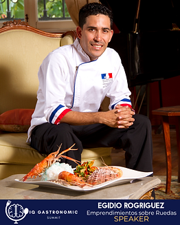 Egidio Rodriguez - IQ Gastronomic Summit