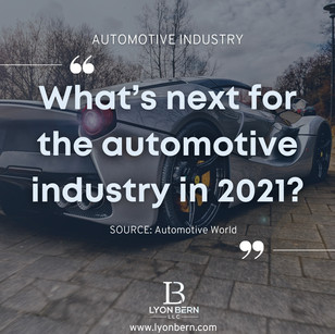 2021 trends in the automotive industry