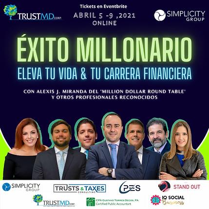 Éxito Millonario- Eleva tu carrera finan