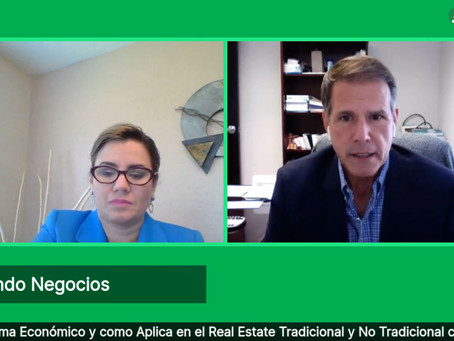 Covid-19 and Florida Real Estate with Ferdinand Ruano on the show Haciendo Negocios