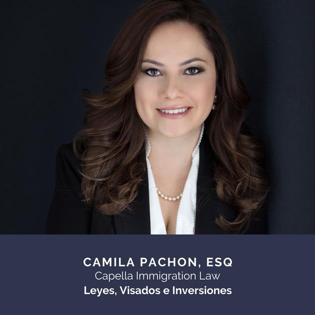 Camila Pachon Esq., Capella Immigration Law