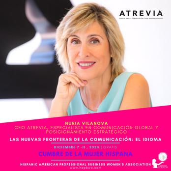 Nuria Vilanova de Atrevia - Cumbre de la