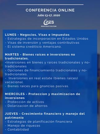 Inversionistas Hispanos 2020 - Una nueva era