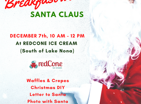 Events for kids - Breakfast with Santa in Orlando