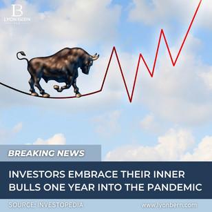 Are investors feeling bullish?