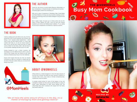 The @MomHeels Busy Mom Cookbook  is out!