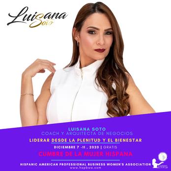 Luisana Soto - Cumbre de la Mujer Hispan