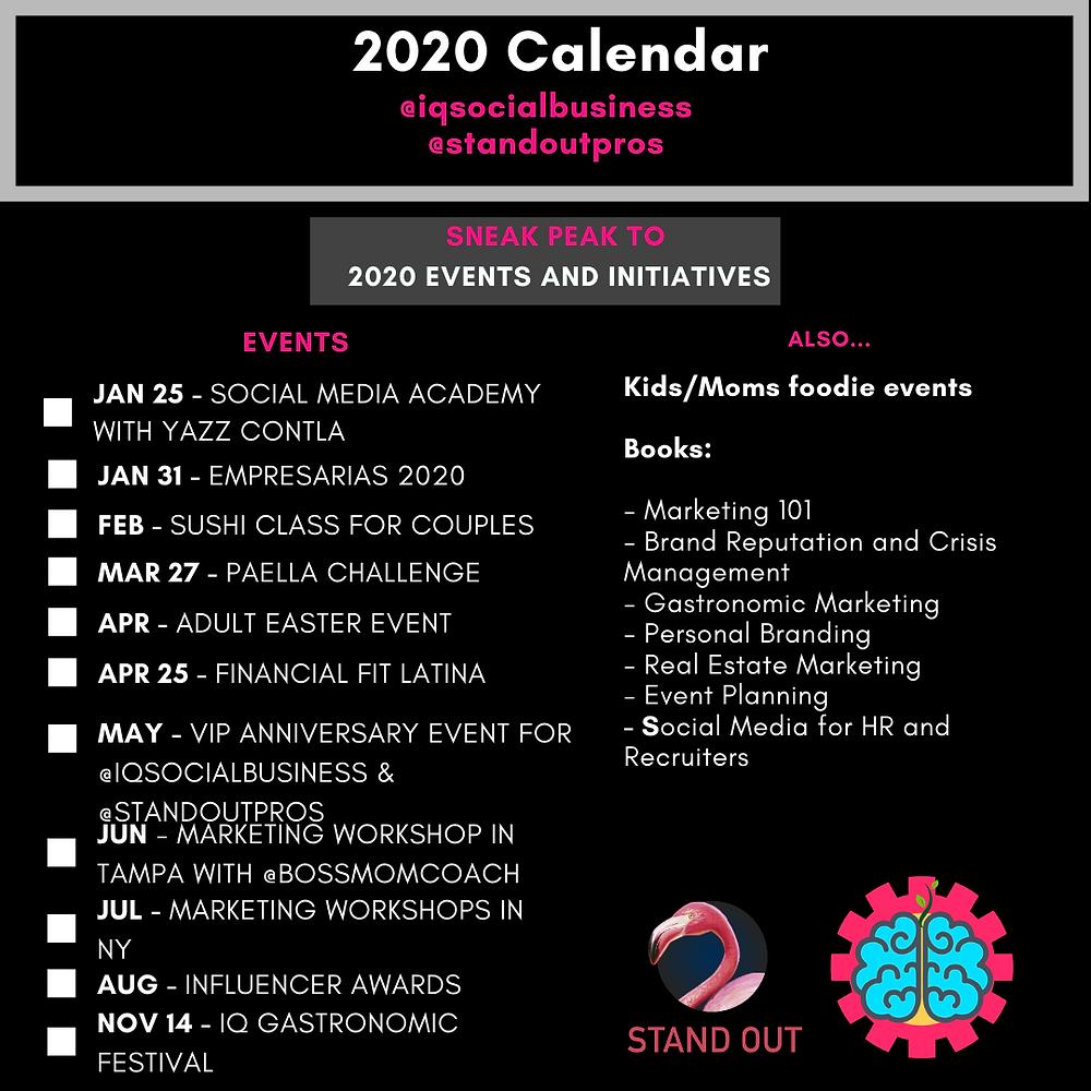 Marketing events in orlando 2020
