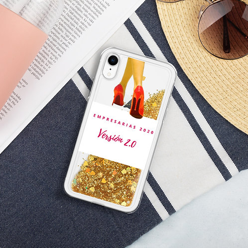 Liquid Glitter Phone Case EMPRESARIAS 2020