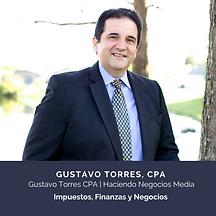 Gustavo Torres CPA, Haciendo Negocios