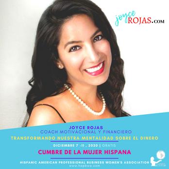 Joyce Rojas - Cumbre de la Mujer Hispana