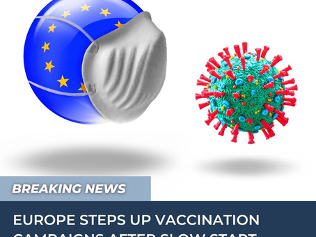 European vaccination and the economy