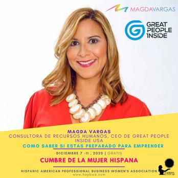 Magda Vargas - Cumbre de la Mujer Hispan