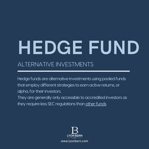 Financial term of the day: What is a Hedge Fund?